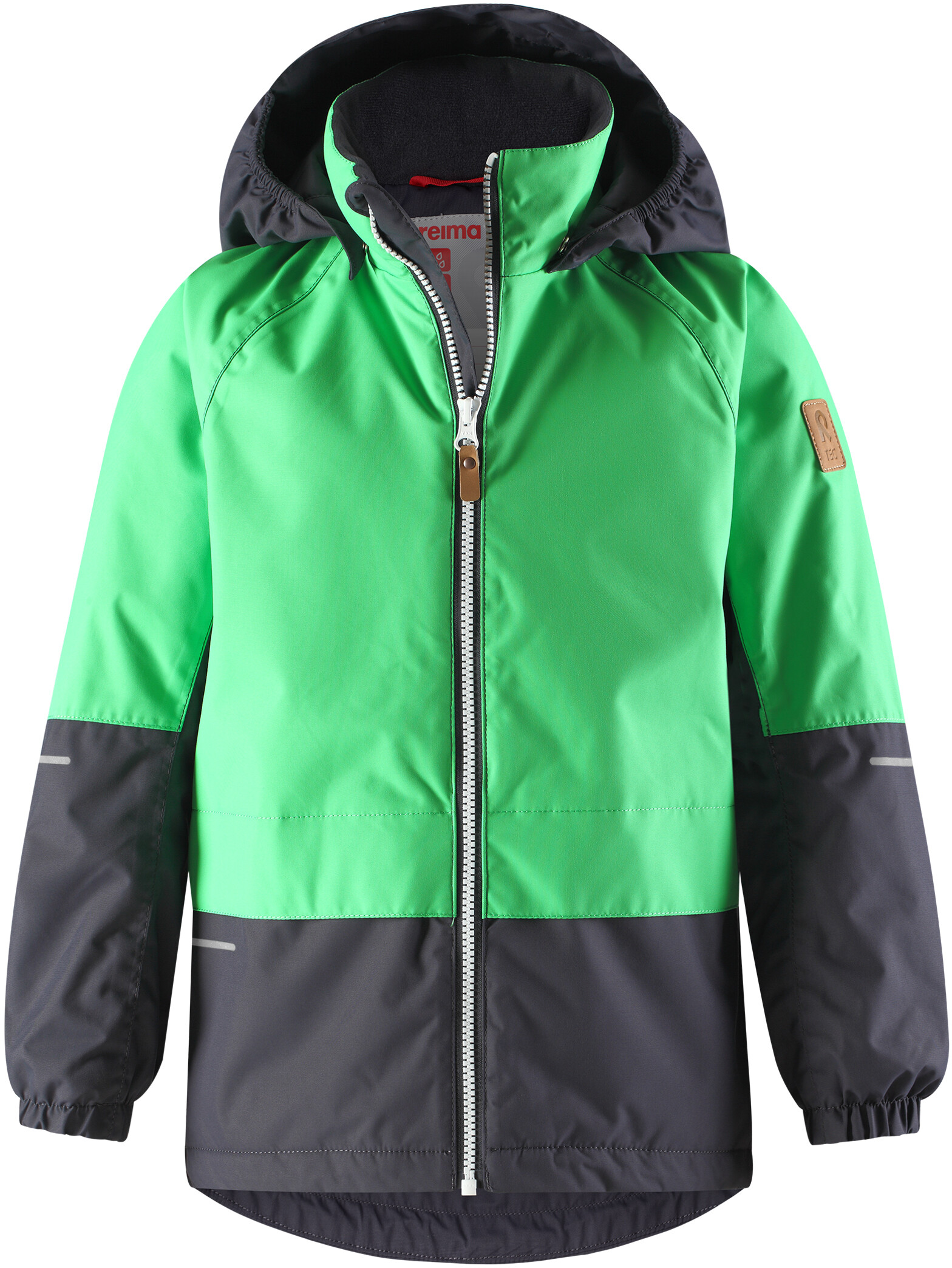 1f2aabdad5d Reima Aho Jakke Børn grøn/sort | Find outdoortøj, sko & udstyr på ...